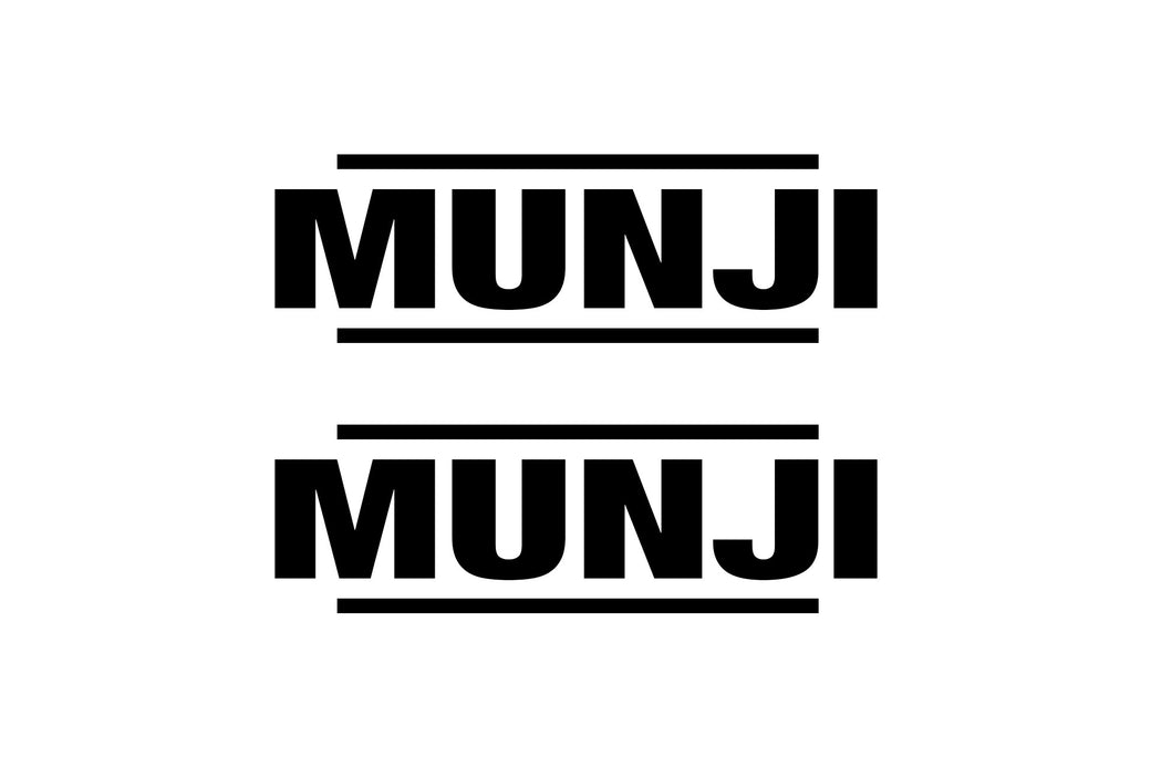 Sticker - Munji Logo
