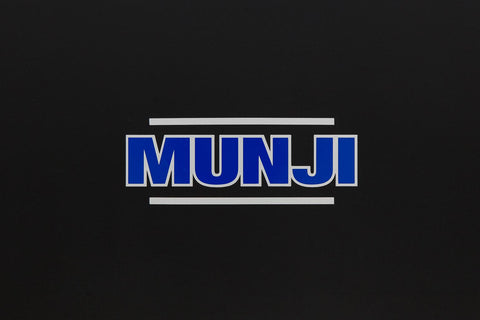 Sticker - Munji Logo (Blue and Silver)