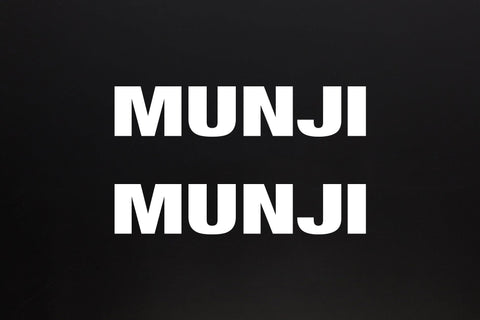 Sticker - Munji Logo without lines