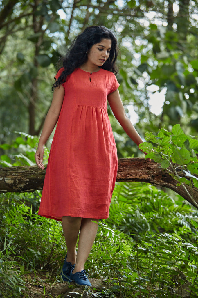 Colour of Poppies Dress