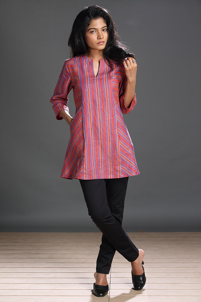 Paroe Striped Tunic - FLOOD SURVIVOR