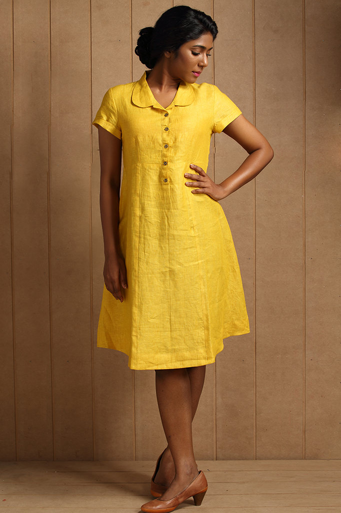 Beypore Dress ~ Gold