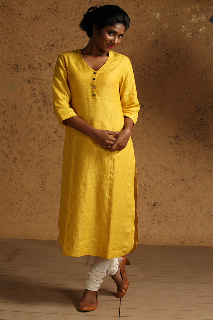 Tellicherry Kurta ~ Gold