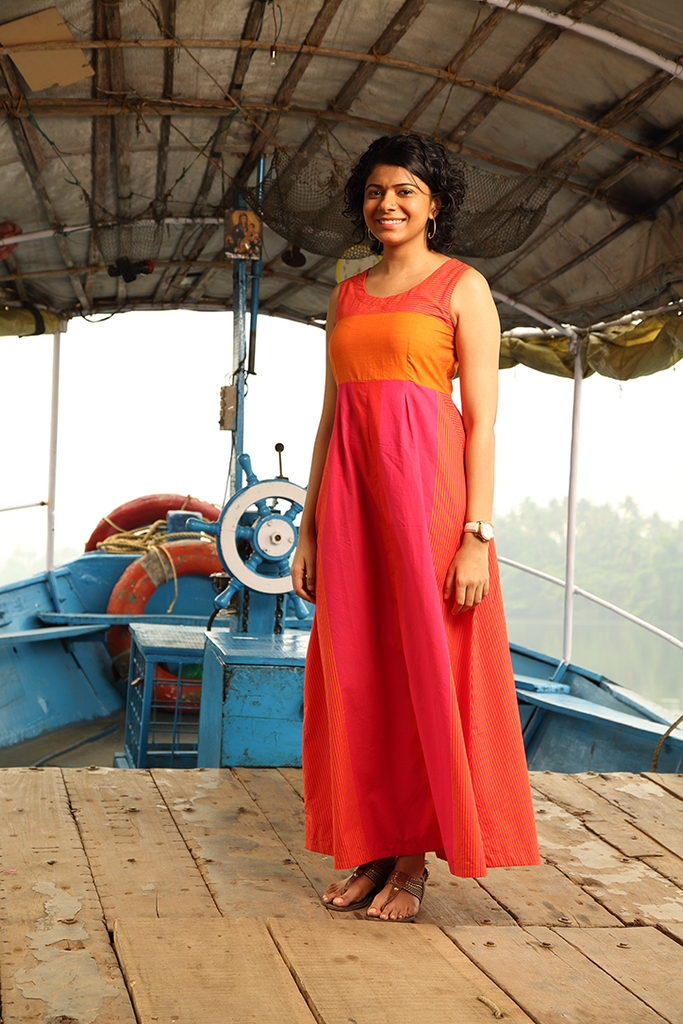 Mithai Pink Kaithari ` Dress