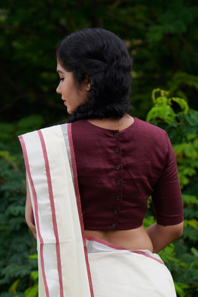 Theni Linen Blouse