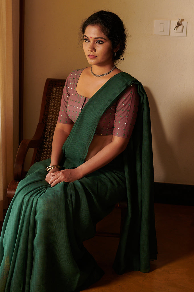 Green Kota Saree