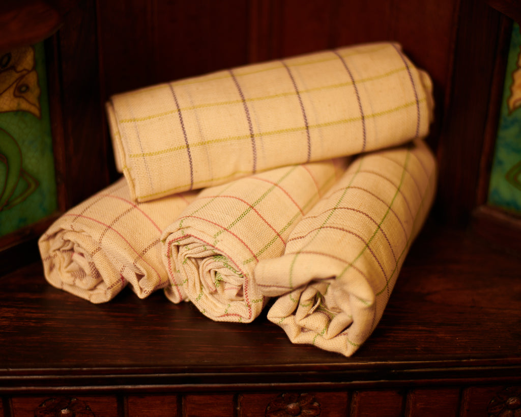 Chutti Thorthu` Towel ~ Kora -Set of 4