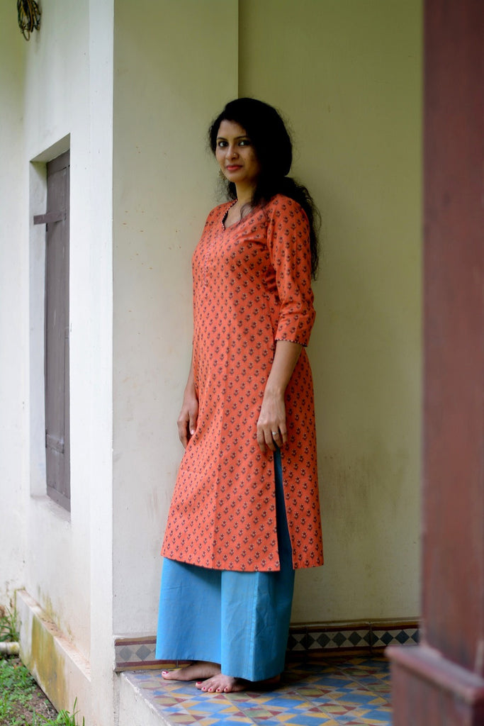 Parijatam Kaithari Kurta - FLOOD SURVIVOR