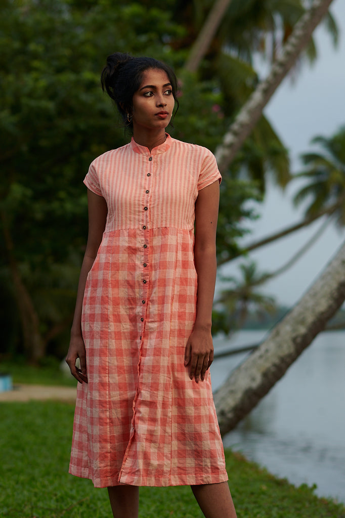 Peach Relaxe Dress
