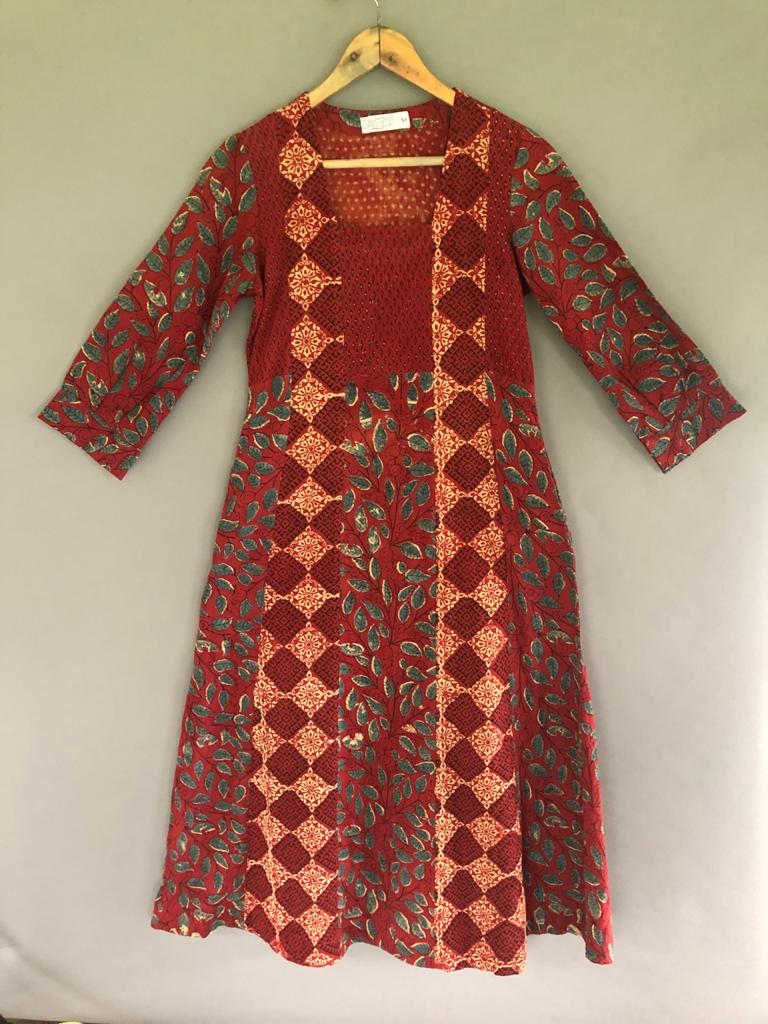 Madder Square Dress