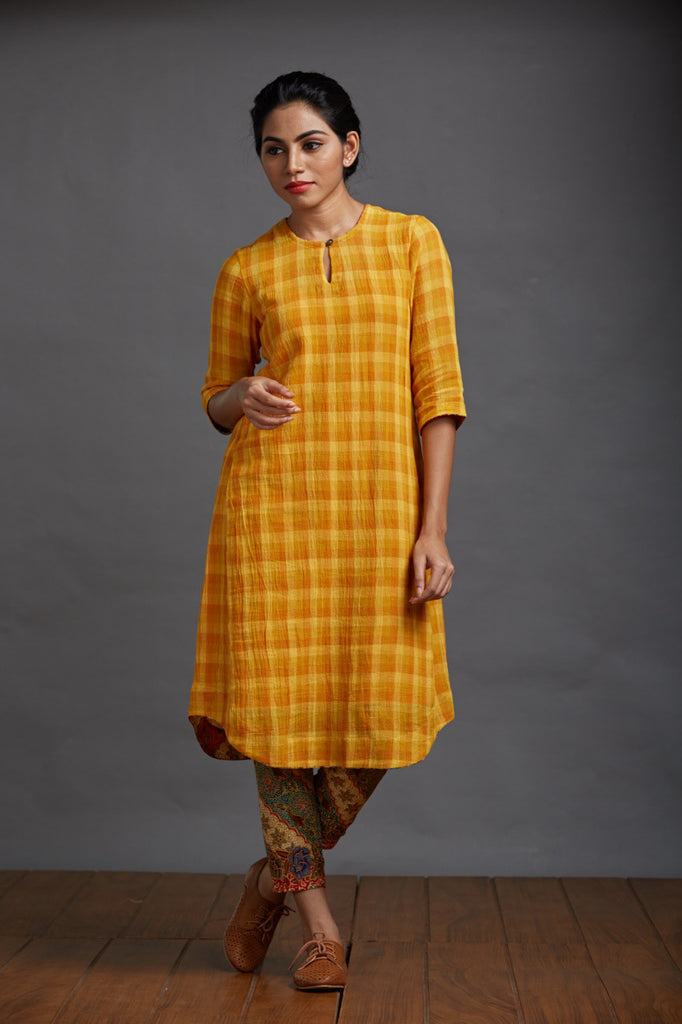 Summer Poem Crepe Kurta