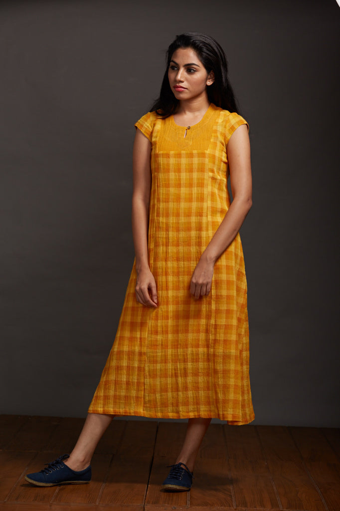 Summer Poem Yoke Dress