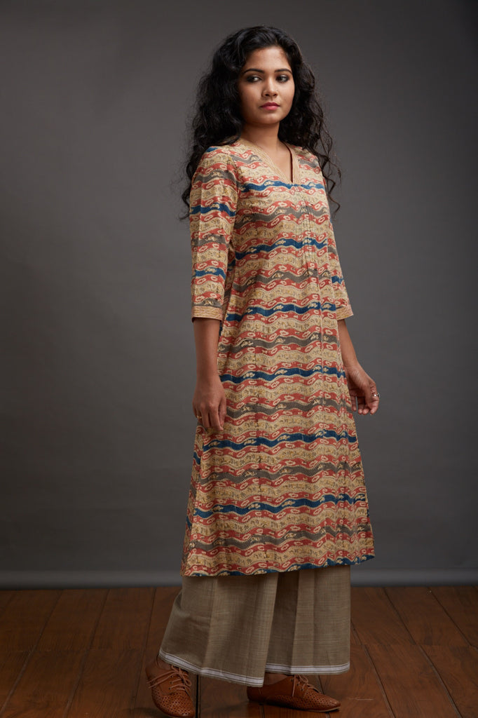 Nilofer Patch Kurta