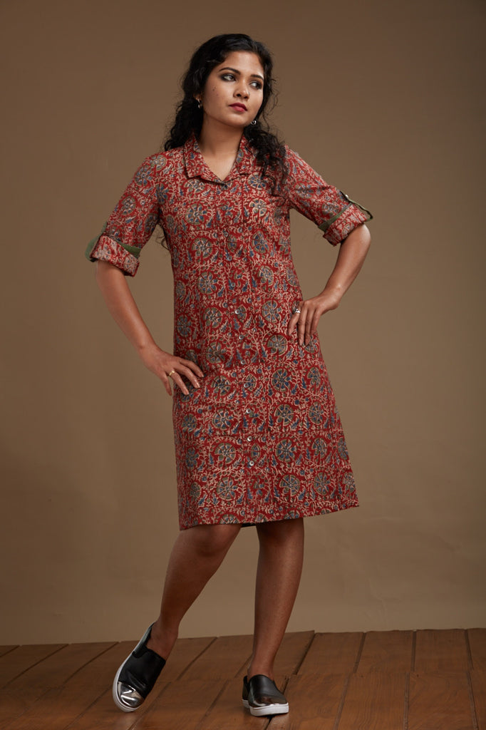 Amal Shirt Dress