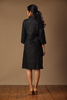 Koylang Linen Dress ~ Black