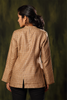 Mahe Linen Jacket ~ Golden Wheat