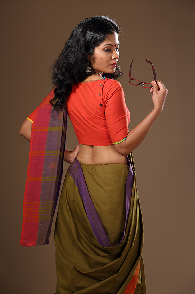Chendumalli Button Blouse - FLOOD SURVIVOR