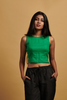 Leah Linen Crop Top