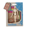 Wooden Toy - Seedling The Fashion Designers Kit - Dress Up Game - Wood/Multi