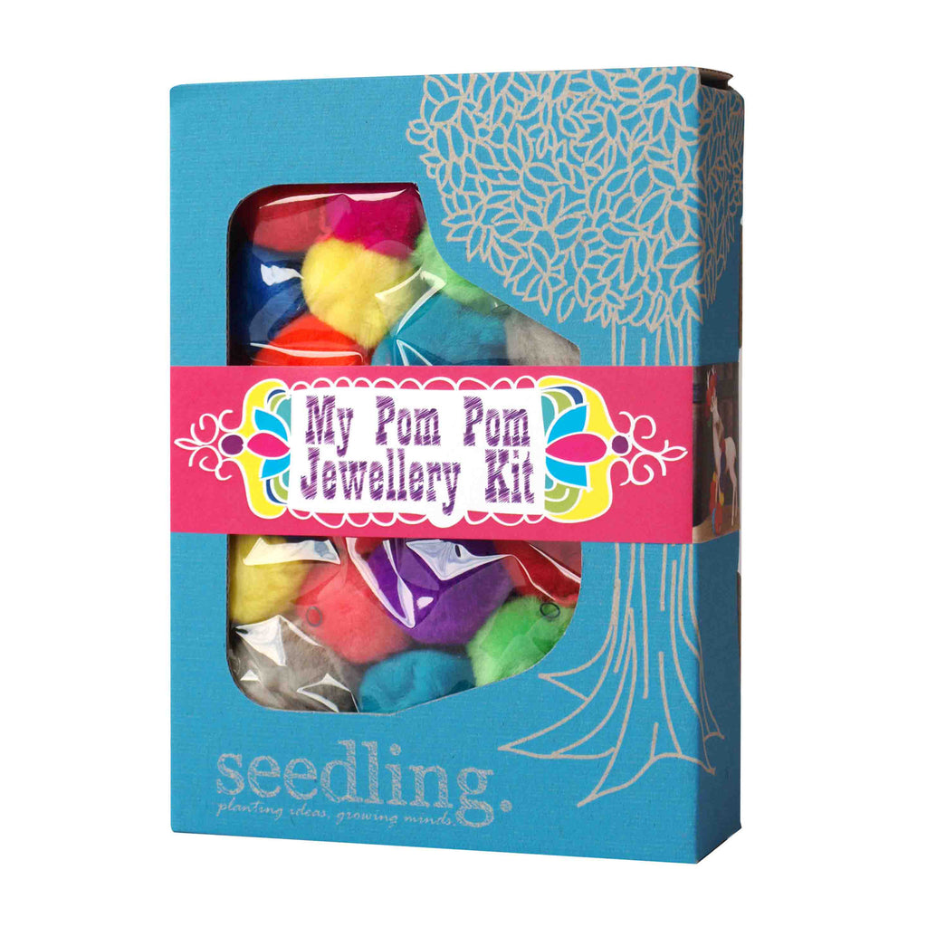 Seedling Pom Pom Jewellery Kit