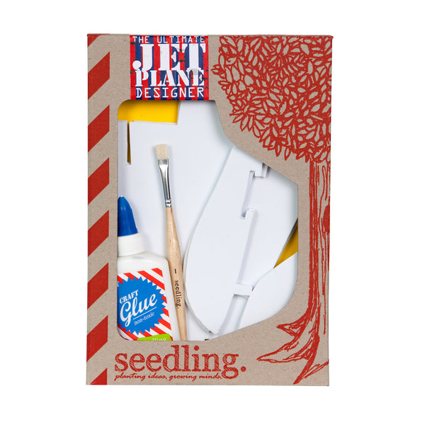 Seedling The Ultimate Jet Plane Designer Kit