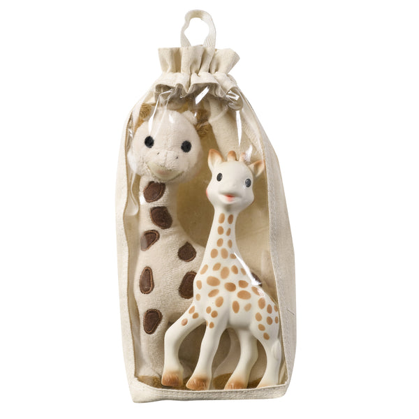 Sophie The Giraffe and Soft Toy Set