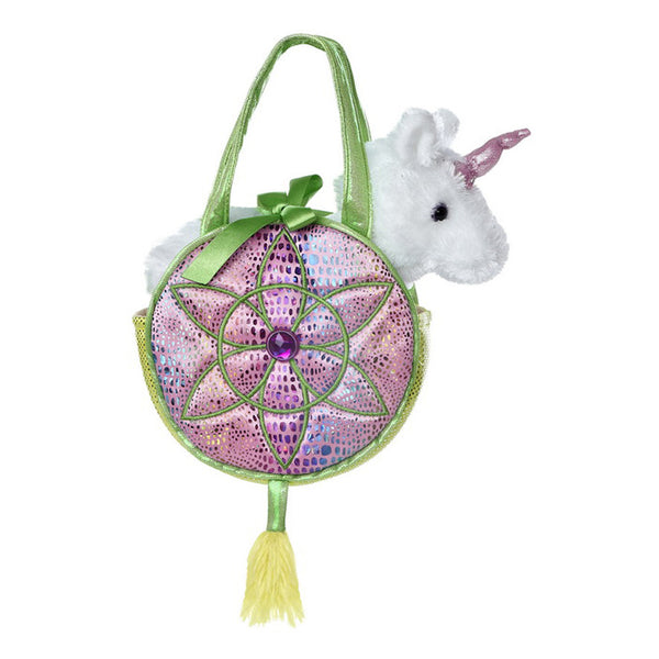 Soft Toy - Aurora Unicorn Pet Carrier - Animal Baby Toy - Pink