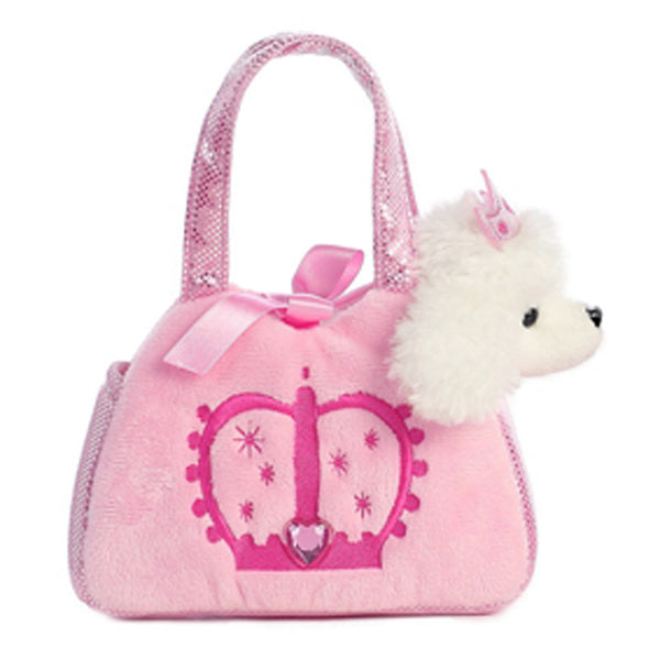 Soft Toy - Aurora Poodle Pet Carrier - Animal Baby Toy - Pink