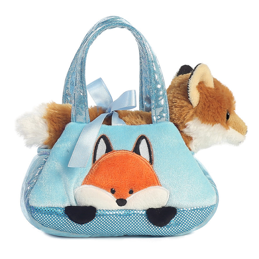 Aurora Peek a Boo Fox Pet Carrier