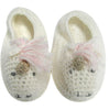 Albetta hand crocheted unicorn booties