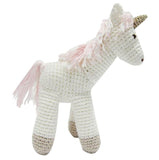 Albetta hand crocheted unicorn toy