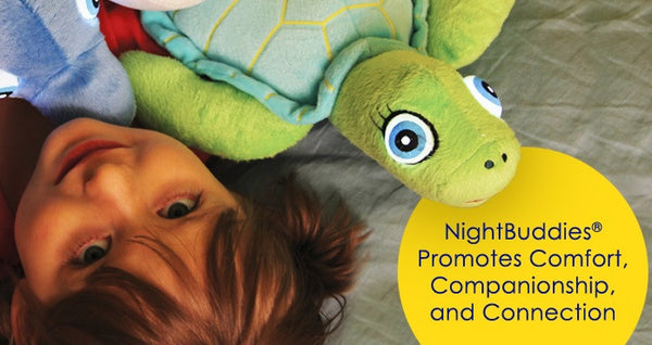 Soft Toy - Night Buddies Ally the Turtle - Glow in the Dark Toy - Green