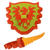 Kids Toy - Bloco Combat Dragon - Dragon Toy - Green