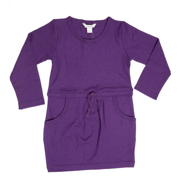 Linzi Steezie Drawstring Dress - Purple