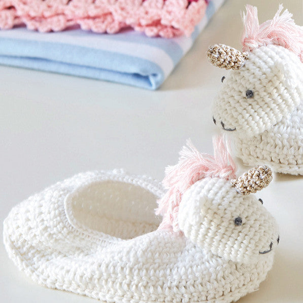 Albetta Magical Unicorn Booties