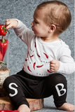 Baby Tights - SOOKIbaby Black Legging - 3-24 Months