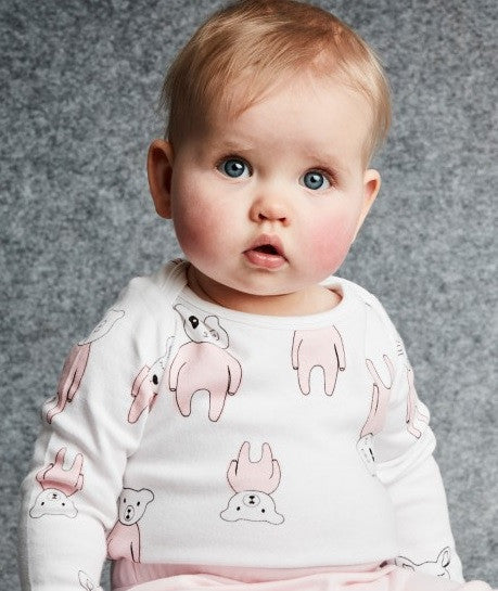 SOOKIbaby Oh Deer All Over Print Snapsuit