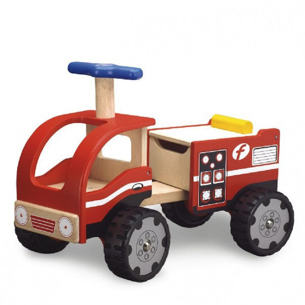 Wonderworld ride on fire engine