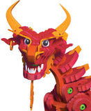 Kids Toy - Bloco Aqua and Pyro Dragons - Dragon Toy - Multi