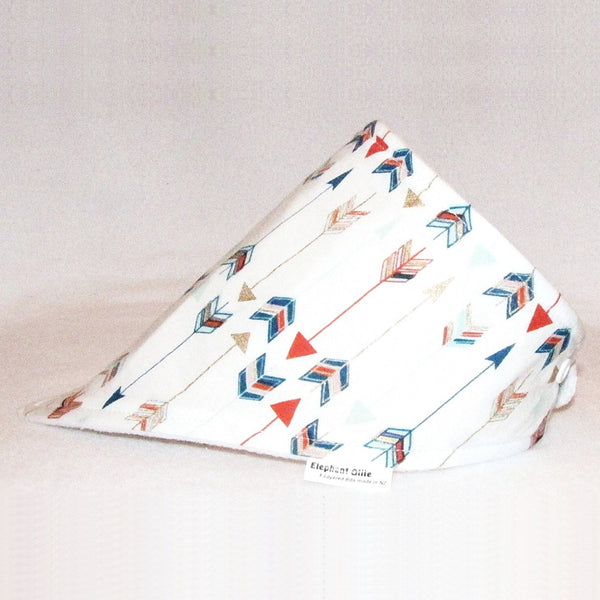 724e6ec6452 Elephant Ollie Arrows Bandana Bib Quick shop