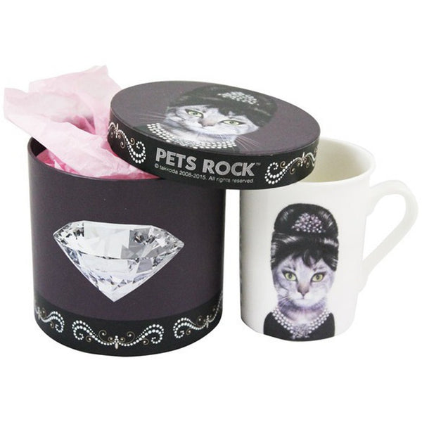 Pets Rock Gift Boxed Coffee Mug Breakfast