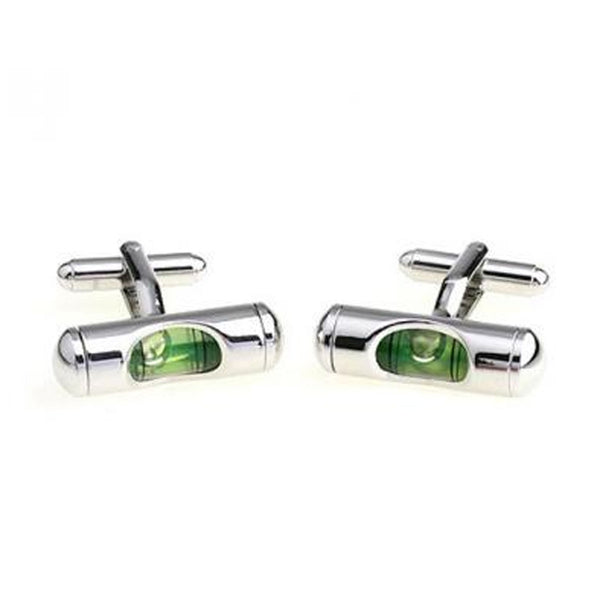 Cufflink Suite Spirit Level Cuff Links