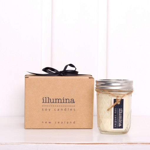 Illumina Soy Candles Quilted Jelly Jar