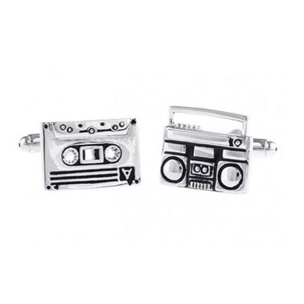 Cufflinks - Cufflink Suite Tape Deck Cuff Links
