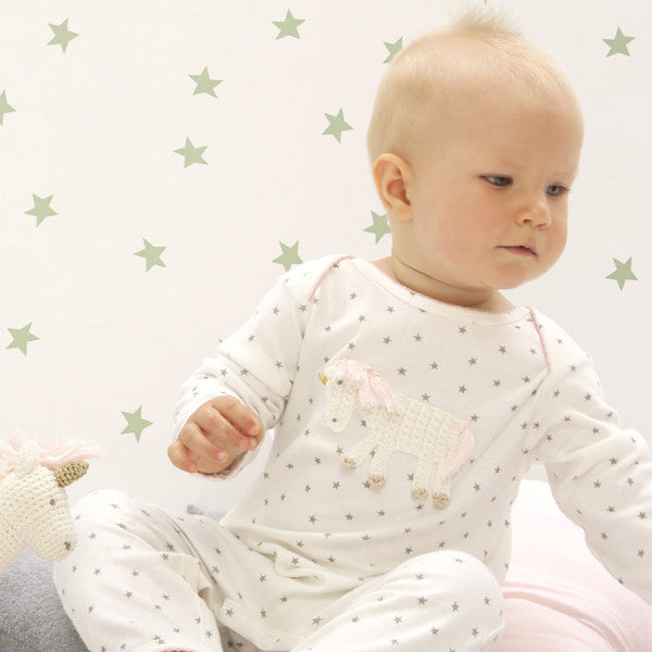 Albetta Magical Unicorn Babygrow