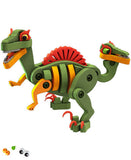 Kids Toy - Bloco Velociraptor and Pterosaur - Dinosaur Toy - Multi