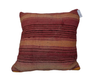Dark Pink and Orange  Berber Moroccan Cushion