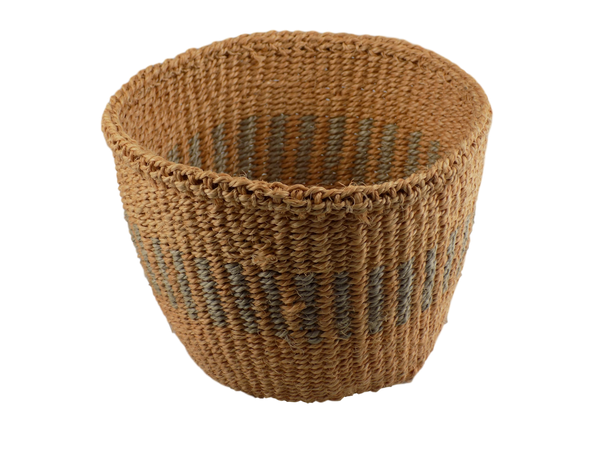 Natural and Grey Shades Sisal Basket