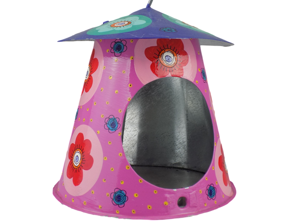 Hand-painted Birdfeeder from Swaziland