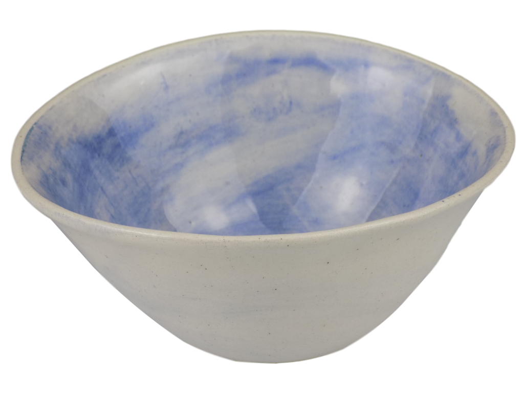 Handmade Blue Pudding Bowl